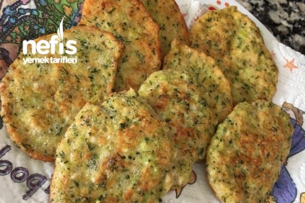 Brokoli Mücver (1 Yaş) Tarifi