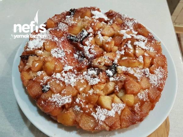 Elmalı Şarlotka(Hafif Ve Yumuşacık Elmalı Kek)