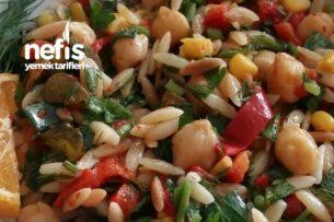 Nohutlu Şehriye Salatası Tarifi