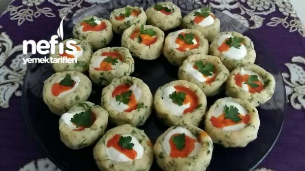 Minik Patates Çanaklari (Gün sofralarina)