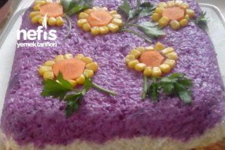 Rengarenk Yoğurtlu Salata Tarifi