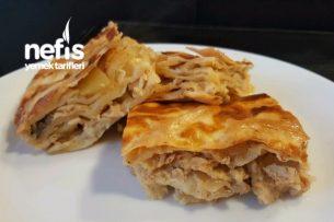 Tavuklu Mantarlı Patatesli Su Böreği Tarifi