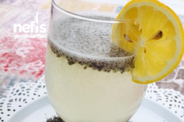 Chialı Limonlu İçecek (Diyet) Tarifi