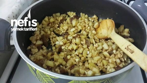 Elmalı Milföy Tatlısı (apfelstrudel)