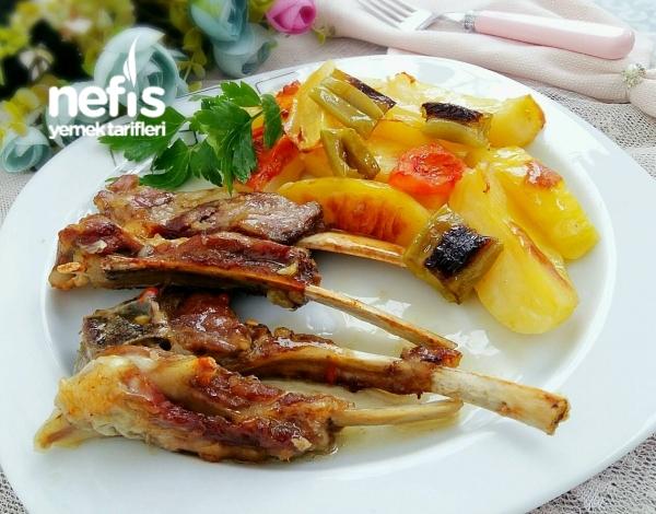 Fırında Sebzeli Nefis Lokum Pirzola