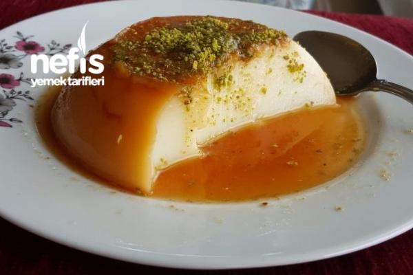 Krem Karamel (Laktozsuz Süt İle)