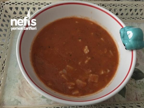Mercimekli Erişte Çorbası (+1yaş)