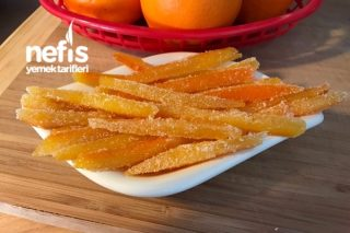 Nefis Portakal Kabuğu Şekerleme Tarifi