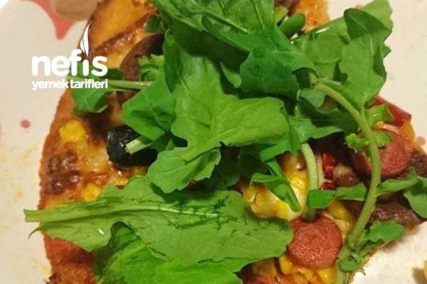 Pizza Mamma Mia (İnce Hamur) Tarifi