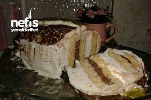 3 Malzemeyle Silindir Şekilli Pasta Tarifi