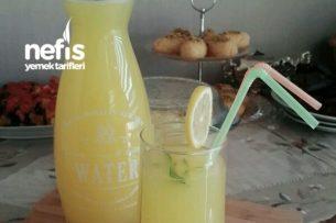 Limonata Buzlu Limon Portakal İle) Tarifi