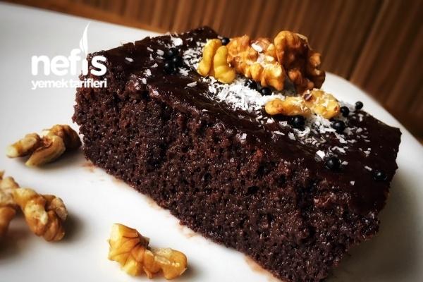 Pastane Usulü Kakaolu Islak Kek (Muhteşem) Tarifi