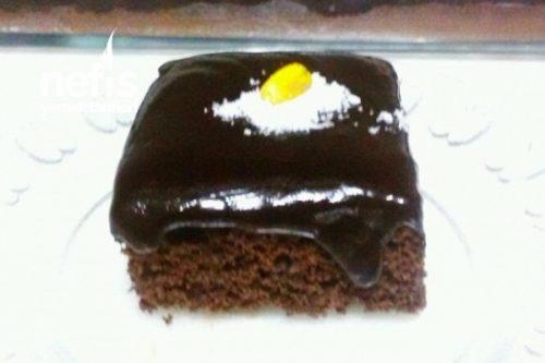 Çikolata Soslu Pamuk Kek Tarifi