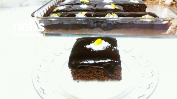 Çikolata Soslu Pamuk Kek