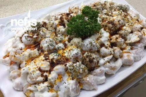 Çıtır Yufkalı Tavuklu Nohutlu Gün Salatası Tarifi