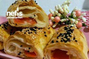 Domatesli Peynirli Börek (Nefis) Tarifi