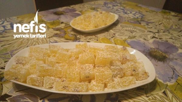 Ev Yapımı Mis Kokulu Portakallı Lokum Tarifi