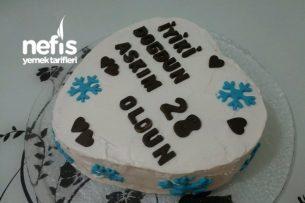 Kar Taneli Doğum Günü Pastası Tarifi