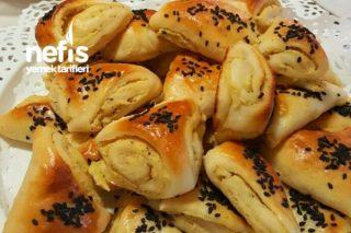 Patatesli Peynirli Üçgen Poğaça Tarifi