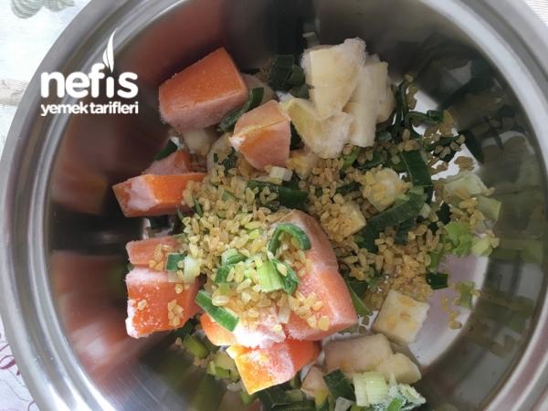 Sebze Çorbası (+1yaş)