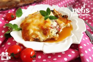 Beşamel Soslu Patlıcan Musakka Videosu