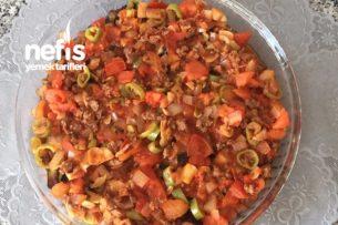 Kıymalı Patlıcan Yemeği Tarifi