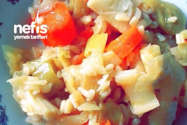Çok Lezzetli Pırasa Yemeği Ve Çok Hafif Bir Yemek