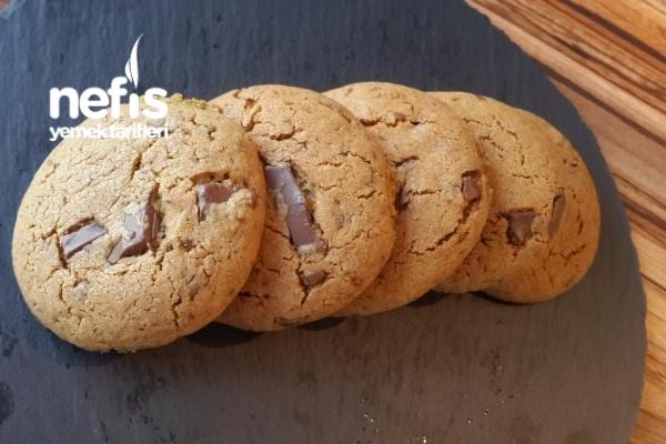 Parça Çikolatalı Tarçınlı Kurabiye(Amerikan Cookie) Tarifi