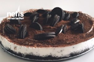 Oreolu Dondurmalı Pasta( Az Malzemeli,Çok Pratik,Enfes) Tarifi