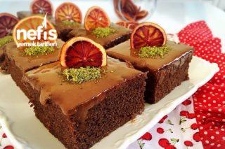 Portakallı Çikolatalı Islak Kek Tarifi