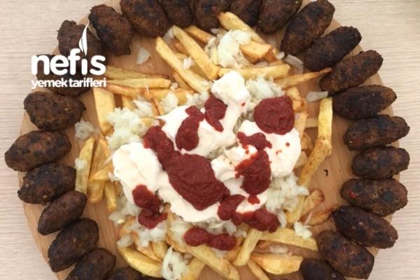 Kızartma Köfte ve Patates Tarifi