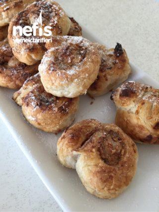 Lokmalık Tahinli Çörek ( Milföylü )
