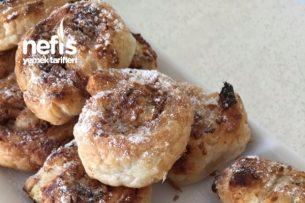 Lokmalık Tahinli Çörek ( Milföylü ) Tarifi