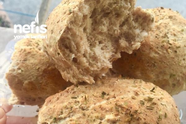 Yulaflı Kepekli Pofuduk Ekmekler Tarifi