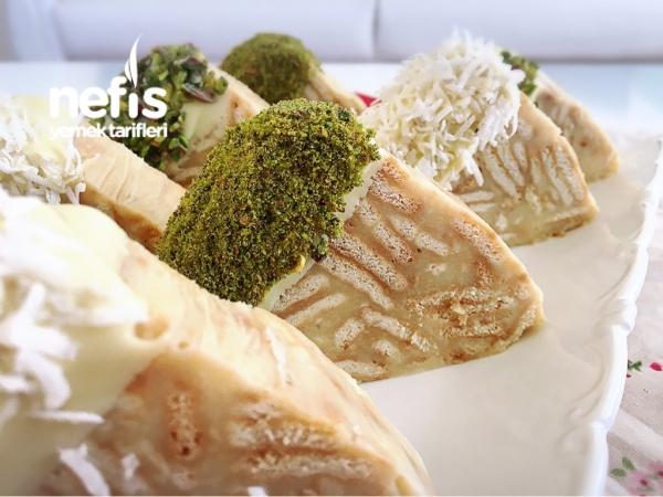 Muzlu Bisküvili 10 Dk Pastası