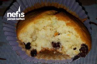 Muffin (Damla Çikolatalı Ve Kuru Meyveli) Tarifi
