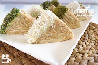 Muzlu Bisküvili 10 Dk Pastası Videosu Tarifi