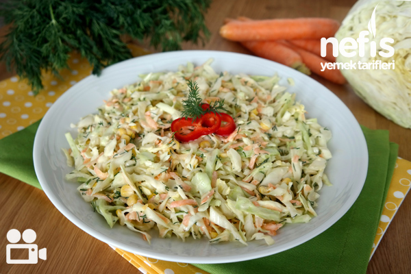 Coleslaw Salata Videosu Tarifi