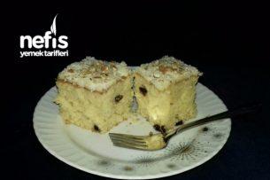 Muzlu Pudingli Kek (Yumuşak Çok kabaran) Tarifi