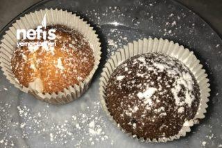 Tek Hamur İki Çeşit Muffin 24 Adet Tarifi