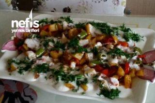 Bir Oturuşta Yiyeceğiniz Tavada Hafif Kızartma Tarifi