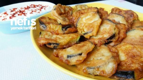Puf Puf Patlıcan Kızartması ( Çok Lezzetli )