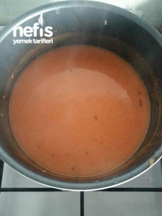 Domates Çorbası Sütlü