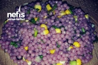 Kuskus Salatası (Mor Renkli) Tarifi