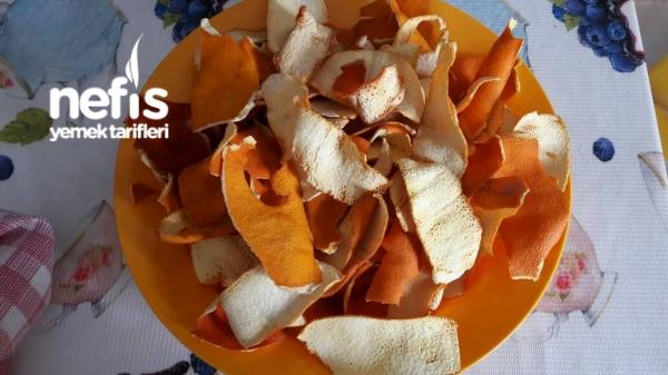Portakal Kabugu Tozu Yapımı