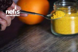 Portakal Kabuğu Tozu Yapımı Tarifi