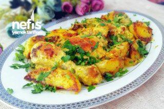Tavada Kremalı Körili Tavuk Patates Tarifi