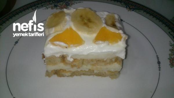 2 Katlı Etimek Tatlısı (Yaş pasta tadında)