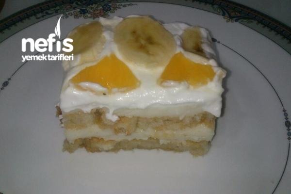 2 Katlı Etimek Tatlısı (Yaş pasta tadında) Tarifi
