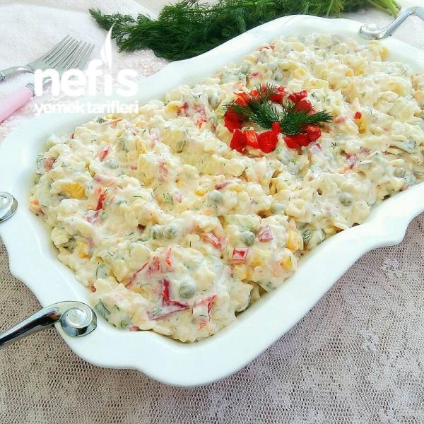 Bol Malzemeli Şehriye Salatası (Gün / Misafir)